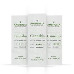 Vape de CBD 2% sabor Cannabis | Comprar eLiquid de Cannabidiol 200mg