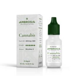 Vape de CBD 4% sabor Cannabis | Comprar eLiquid de cannabidiol 400mg