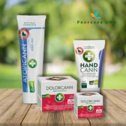 Pack Handcann Natural, Atopicann y Dolorcann BIO