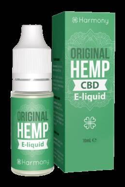 Vape Harmony e-Liquid CBD 1% Original Hemp | Sabor Cáñamo Original