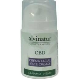 Crema facial con CBD de Alvinatur | Producto BIO