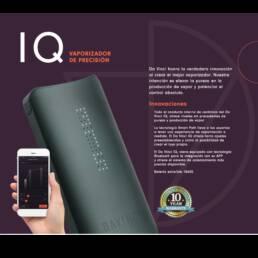 Vaporizador IQ Black DaVinci | Vaporizador para Flor CBD
