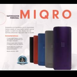 Vaporizador DaVinci MIQRO | Vaporizador para Flor CBD