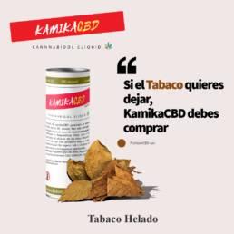 KamikaCBD eliquid· Tabaco · al 2,5% (250mg) y al 5% (500mg) CBD