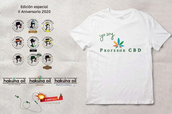 Camisetas blanca · Yo Soy ProfesorCBD · Para hombre