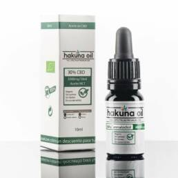 Aceite CBD Premium hakuna oil al 30% Full Spectrum con base MCT