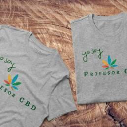 Camisetas Yo Soy ProfesorCBD · Gris para hombre