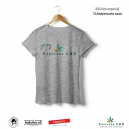 Camiseta para mujer · Yo Soy ProfesorCBD · Color gris